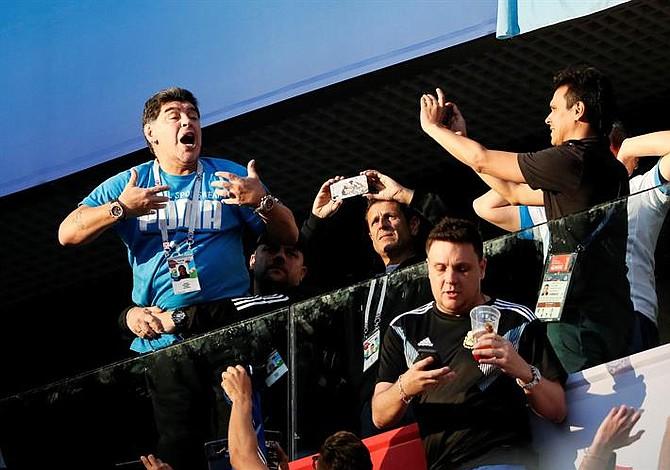 Maradona ofrece jugosa recompensa por creador de audio donde lo daban por muerto