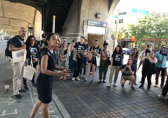 La boricua Alexandria Ocasio ganó las primarias demócratas en Nueva York