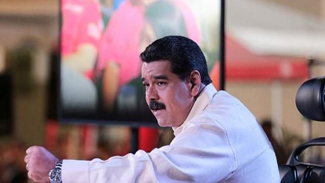 MADURO. El presidente de Venezuela es uno de los diplomáticos de su país sancionados por EE.UU.