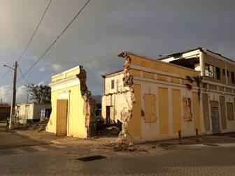 Arroyo, Coamo, Guayama, Ponce, y Aguirre en Salinas fueron las zonas históricas con más estructuras afectadas