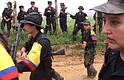 COLOMBIA. Miembros de la extinta FARC