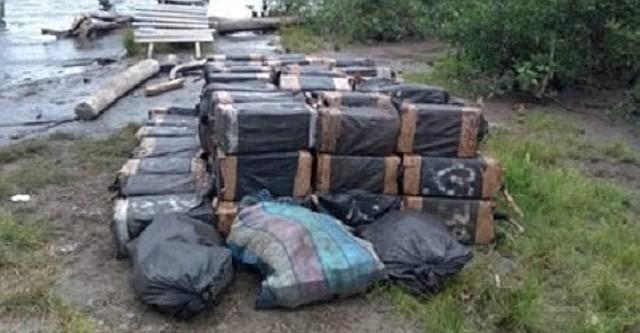 Droga incautada por las autoridades colombianas.
