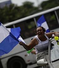 "Caravana ""Nicaragua no olvida, Nicaragua no se rinde"", realizada el domingo"