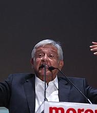 MÉXICO. El izquierdista Andrés Manuel López Obrador