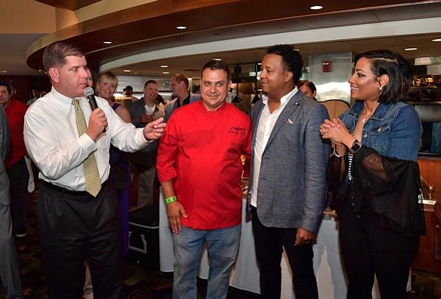 Fiesta gastronómica con Pedro Martínez, por una buena causa