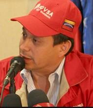 VENEZUELA. José Luis Parada, encargado en 2014 de PDVSA Occidente