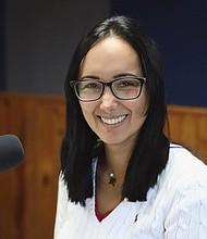 VENEZUELA. La periodista venezolana y directora de la ONG Acción Humanitaria por Venezuela, Marisela Castillo Apitz