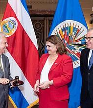 COSTA RICA. Rita Hernández Bolaños, asumió hoy la presidencia del Consejo Permanente de la Organización de los Estados Americanos (OEA)