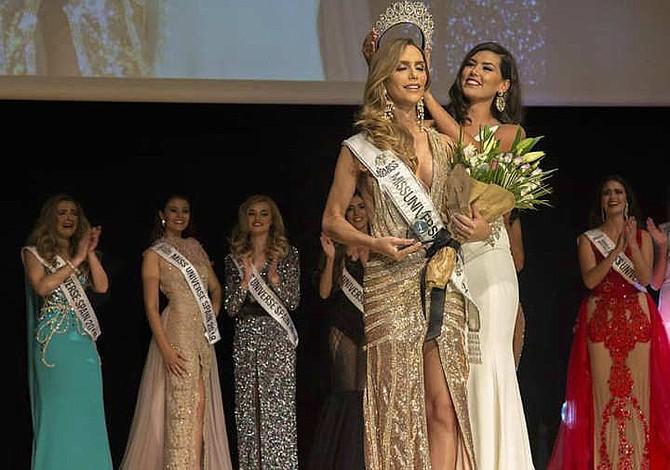 Mujer transgénero se convierte en Miss Universo España