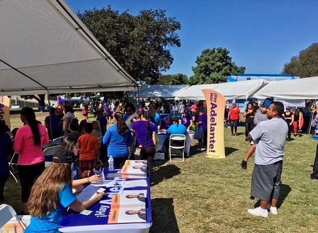 Evento de campaña de salud informativa para los latinos