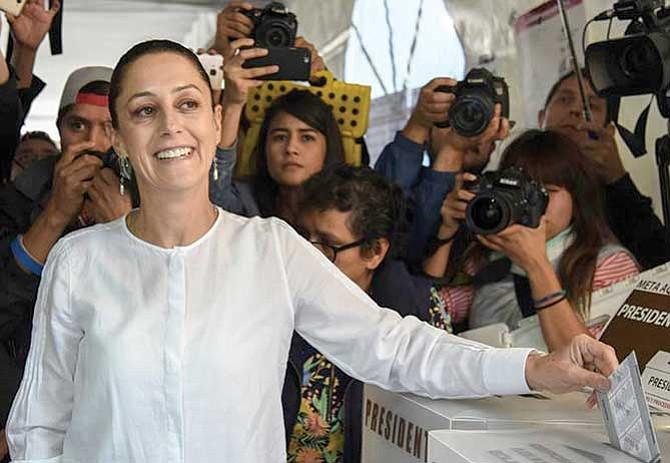 Sheinbaum: Primera alcalde mujer de CDMX