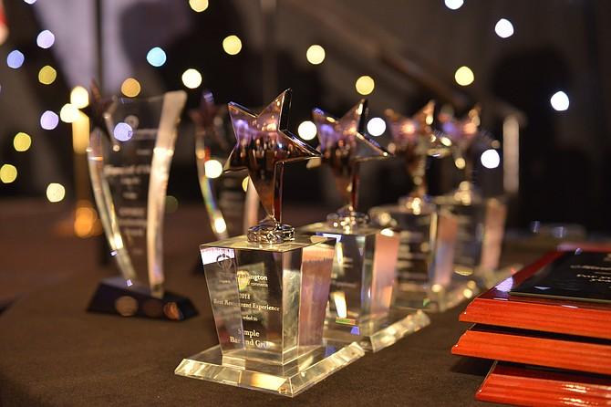 PREMIOS. En su gala anual la GWHCC reconoció a dos visionarios que han cambiado la industria de la hospitalidad en DC y a varios negocios destacados. | FOTO: Cortesía GWHCC