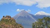 GUATEMALA. La erupción del volcán de Fuego se registró el pasado 3 de junio