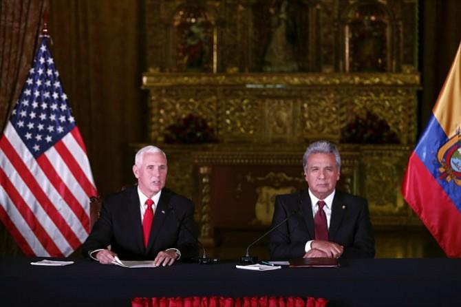 Reunión entre Pence y Moreno causó molestias al régimen de Maduro