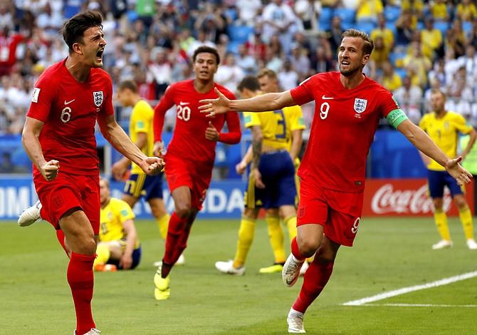 Inglaterra venció a Suecia y está en la semifinal del Mundial