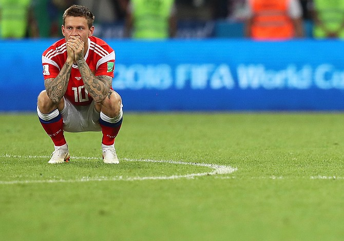 Por penales, Croacia eliminó a Rusia de su Mundial