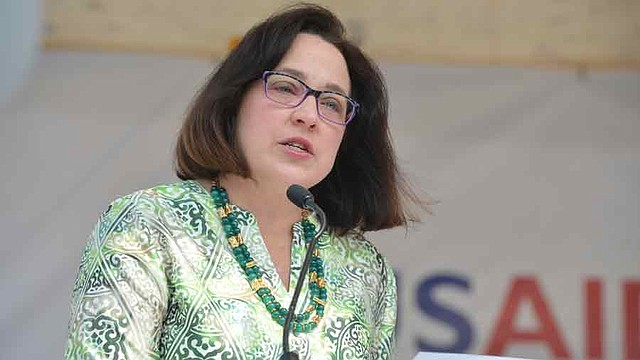 DIPLOMACIA. La embajadora de los Estados Unidos en El Salvador, Jean Manes