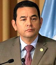 GUATEMALA. Jimmy Morales, presidente guatemalteco