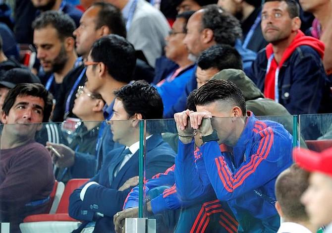 Estas fueron las mentiras del cuerpo técnico de la selección colombiana sobre lesión de James