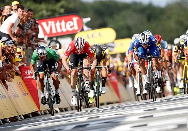 Cuarta etapa del Tour de Francia, 195 kilómetros entre La Baule y Sazeau, en Francia