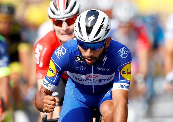 Colombiano Fernando Gaviria ganó su segunda etapa en el Tour de Francia