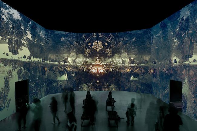 Galería de DC presenta impresionantes mundos creados con fractales