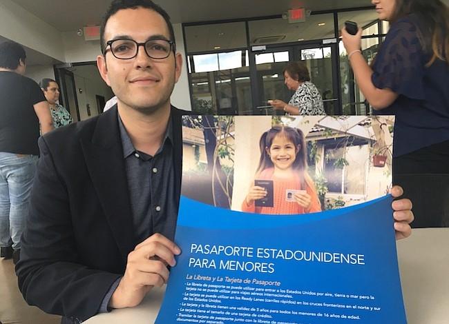 Urgen a hijos de indocumentados obtener pasaporte de Estados Unidos