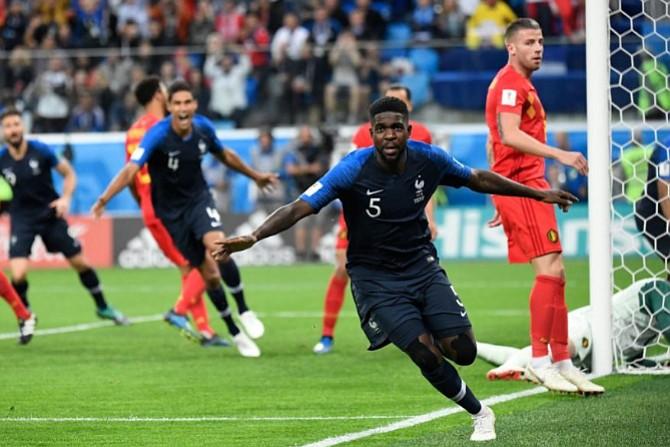 FRANCIA. Samuel Umtiti puso a Francia en la final del Mundial