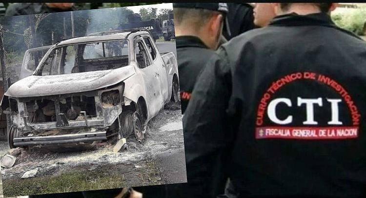 Fueron asesinados tres investigadores del CTI por disidencias de las Farc