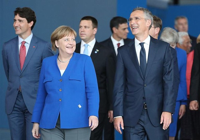 Angela Merkel responde a comentarios de Trump sobre Alemania