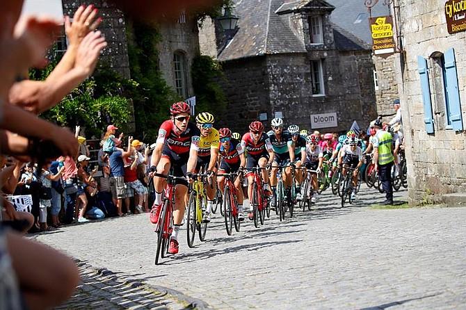 CICLISMO. Tour de Francia 2018 - 5ª etapa