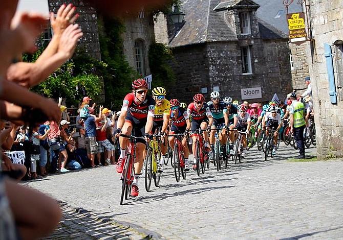 Rigoberto Urán subió un puesto y ya es noveno del Tour de Francia