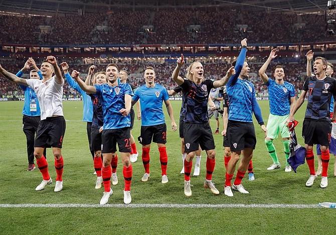 Croacia hace historia y es finalista de Rusia 2018