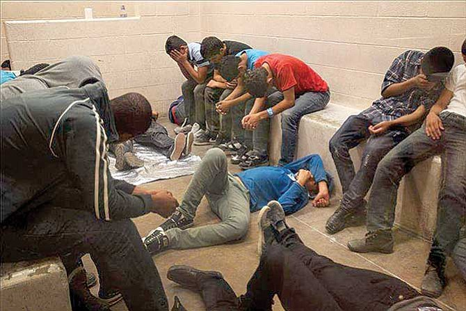 México detuvo y procesó 138,000 niños en cinco años