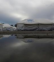 FRONTERAS. Refugio del alto comisionado para las Naciones Unidas destinado a venezolanos en Boa Vista, Roraima, Brasil