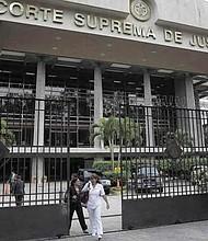 EL SALVADOR - Corte Suprema de Justicia.
