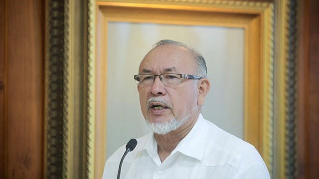 ELSALVADOR. Orestes Ortez, ministro de Agricultura y Ganadería