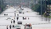 DEVASTADOR. El paso del huracán 'Harvey' por el sureste de Texas dejó alrededor de sesenta víctimas mortales, decenas de miles de desplazados y varios miles de millones de dólares en pérdidas materiales.