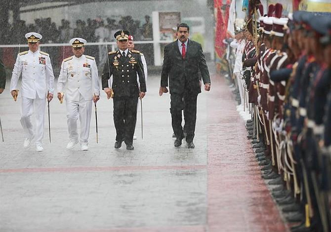 Nicolás Maduro acusó a Colombia de buscar provocaciones por órdenes de EE.UU.