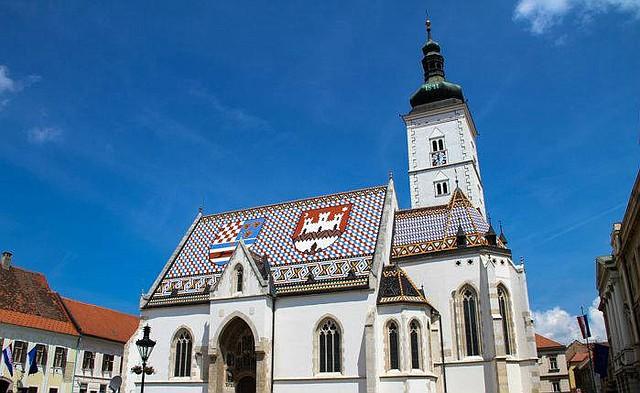 Iluminación con gas en Zagreb.