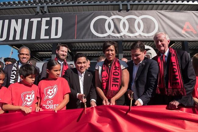 DC United celebra en grande la inauguración del Audi Field