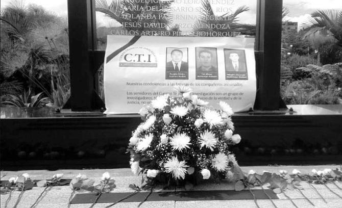 Colombia: ¿Quiénes eran los tres agentes del CTI asesinados en Nariño?