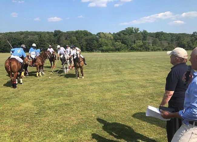 Un torneo de polo para los niños en Argentina