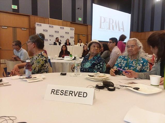 Jornadas. Representantes de varias organizaciones de la tercera edad asistieron a las jornadas para hablar del derecho a votar y de defender al seguro social y Medicaid.
