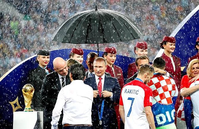 Premiación del Mundial de Rusia 2018
