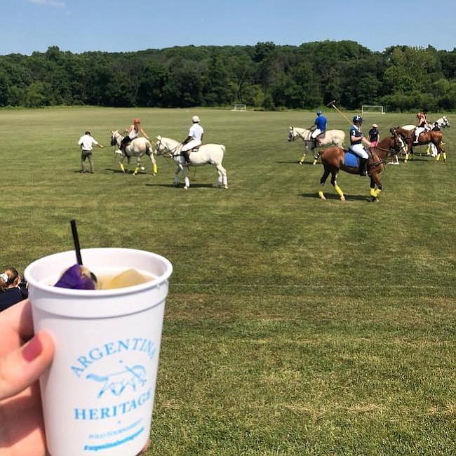 Beneficencia. Desarrollo del torneo de polo, realizado en Maryland, a favor del los de más de 400 mil niños que cada año pasan por el Hospital Garrahan, en Argentina.