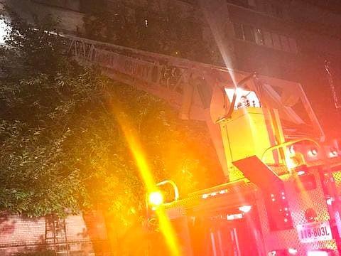 SUCESO. El incendio es investigado por las autoridades