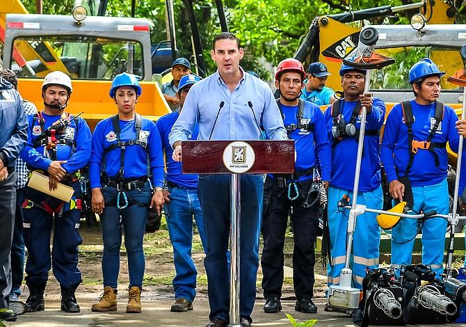 Alcalde de San Salvador visita Washington DC por hermanamiento entre las dos capitales