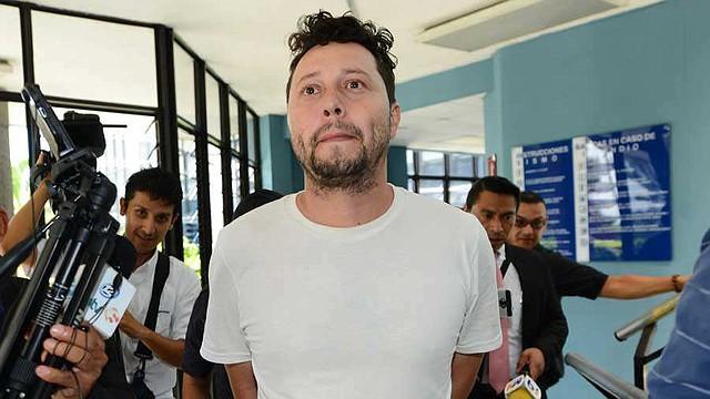 CRIMEN. Ronald Urbina Velásquez acusado del feminicidio agravado en El Salvador