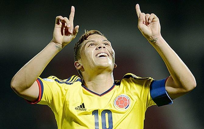 Gol del colombiano Quintero compite por el mejor del Mundial de Rusia